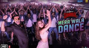 Mera Wala Dance Lyrics – Simmba
